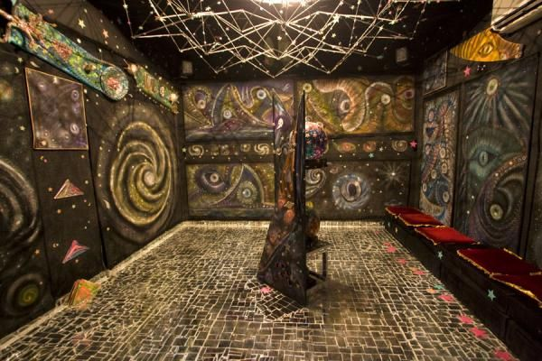 The House of Mirrors is a work of art by the Italian-born Kuwaiti artist Lidia al-Quattan. It is a mesmerizing journey into the world of mirror art.
