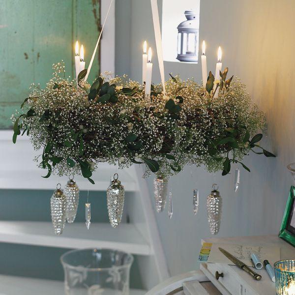 Misteln: Wintergrün für magische Momente - Mistel-Kranz-q13