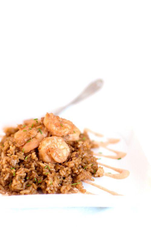 A quick and easy hibachi recipe with fresh shrimp and  Mein Blog: Alles rund um die Themen Genuss & Geschmack  Kochen Backen Braten Vorspeisen Hauptgerichte und Desserts # Hashtag