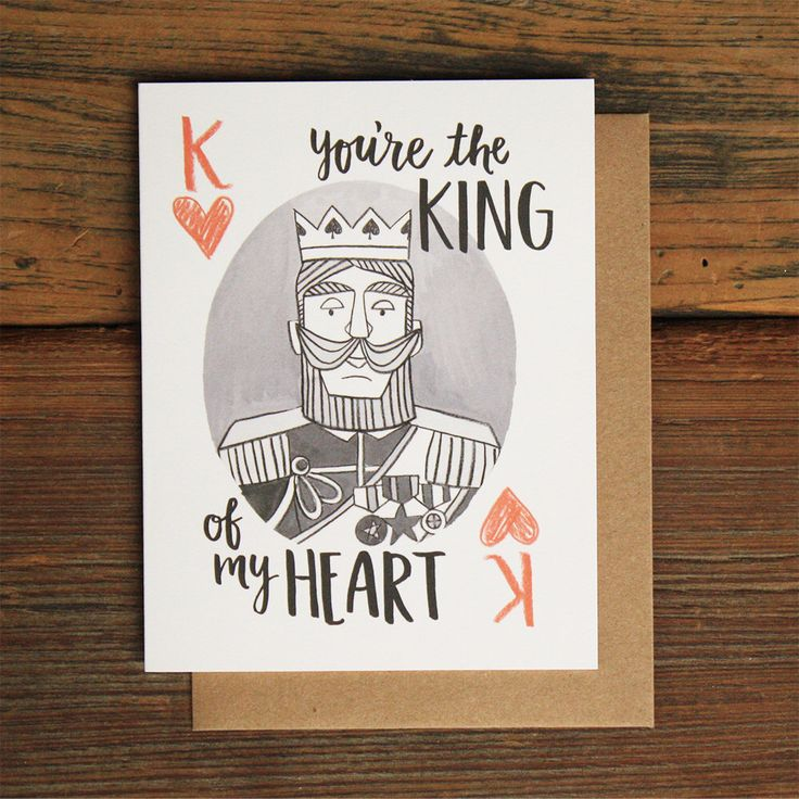 King of My Heart by 1canoe2 on Etsy https://www.etsy.com/listing/198875081/king-of-my-heart