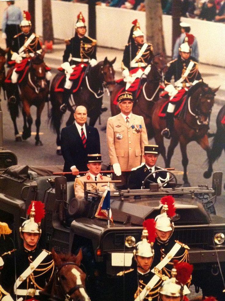 Général Hervé Navereau le 14 juillet 1989 - Défilé militaire du 14 Juillet — Wikipédia