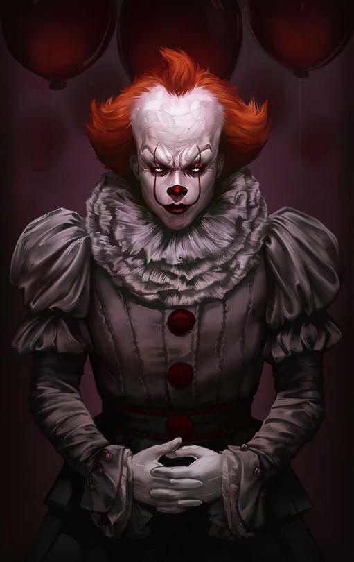 Pennywise Clown Horror Scary Clowns Horror Movie Art
