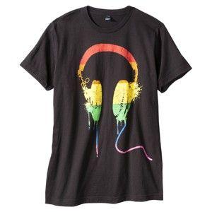 Rainbow Headphones Men s Graphic Tee - Black  9 · Estilo De Muchacha  PatinadoraCamisetas Con Dibujos Para HombresCamisetasAuricularesRopa ... 51a5bbf2268