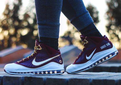 http://SneakersCartel.com Nike Air Max Lebron 7 'Christ The King' - 2010 (by j_smoove_23) #sneakers #shoes #kicks #jordan #lebron #nba #nike #adidas #reebok #airjordan #sneakerhead #fashion #sneakerscartel