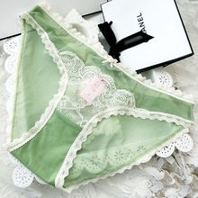 Low waist Sexy mesh &Lace breif women panties Best Seller follow this link http://shopingayo.space