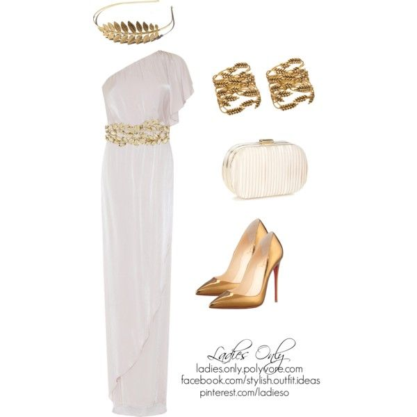 """the greek goddess"" by ladies-only on Polyvore"