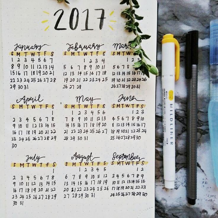 Calendar Ideas Tumblr : Best ideas about calendar journal on pinterest