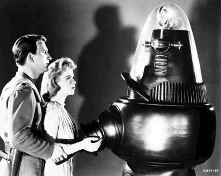 an analysis of the classic science fiction movie forbidden planet A superb sci-fi flick, forbidden planet offers an unusually intelligent  even the  films poster is beautiful, the kind of classic colourful movie.