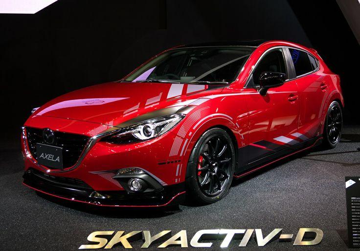新型 マツダ アクセラ / Mazda3