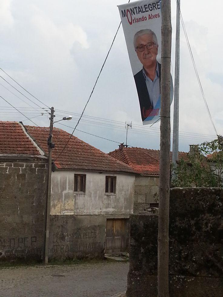 Les élections municipales. Gralhas (près de Montalegre). Nord du Portugal 2013