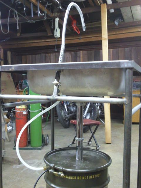 Home Made Parts Cleaner - The Garage Journal Board