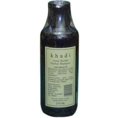 Khadi Amla Kräuter Shampoo Khadi  Tolles Naturprodukt, sehr empfehlenswert. Ich hatte endlich kein Kopfjucken mehr und der Haarausfall ist auch deutlich zurückgegangen! Ich bleibe bei diesem tollen Produkt, auch wenn der Duft ein wenig gewöhnungsbedürftig ist
