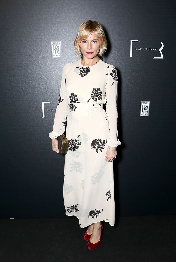 Sienna Miller Is Effortless - Sienna Miller in Reformation