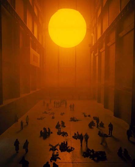 and there was light: Olafur Eliasson The Weather Project | RECLAMATION
