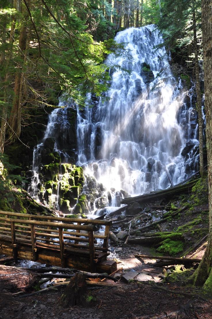 Ramona Falls - Mt Hood Nat'l ForestHoods Nat L, Hoods Natl, Mt Hoods