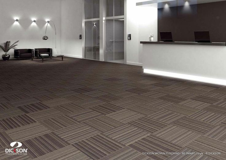 The floors of the future are confortable.  Dickson® woven flooring - http://www.dickson-constant.com/