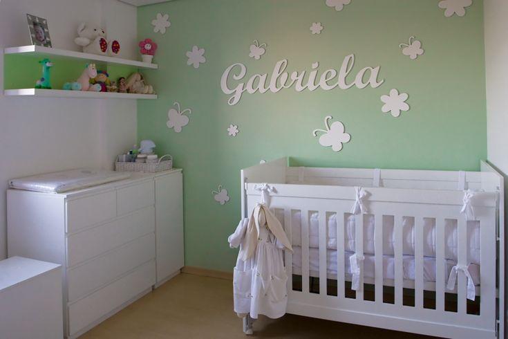 quarto de bebe menina feminino simples Pesquisa Google quarto do bebe ideias Pinterest  -> Decorar Quarto De Bebe Simples