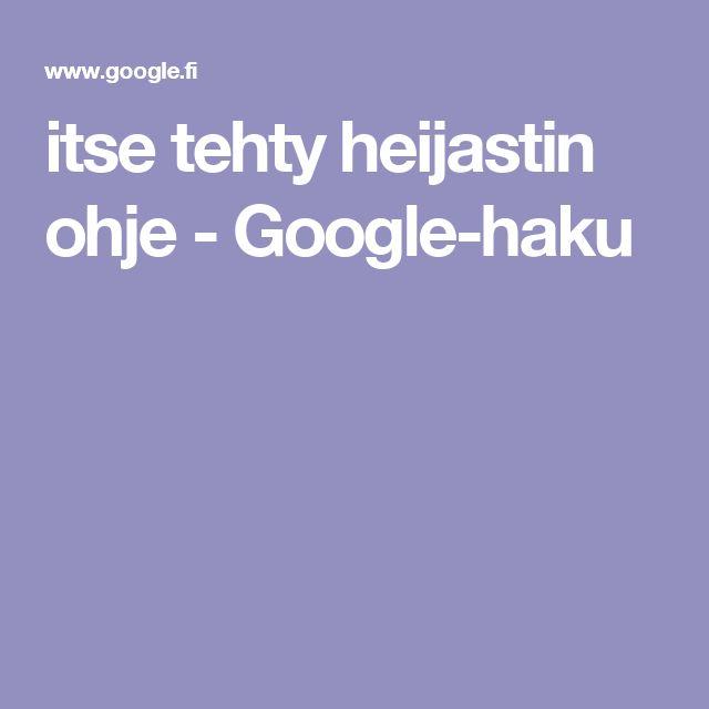 itse tehty heijastin ohje - Google-haku