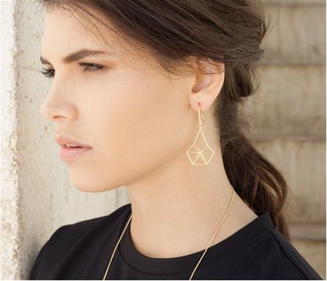 ShlomitOfir - Structure Earrings