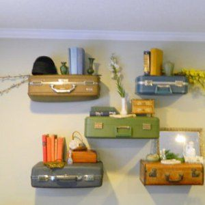 Similar Style Suitcase Shelves