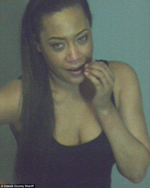 Mug shot: Former Destiny's Child member Farrah Franklin has been arrested for public intoxication
