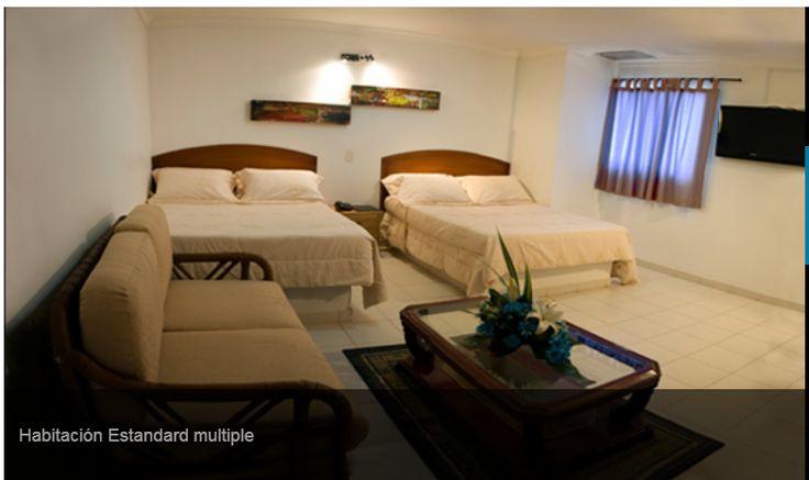 Habitación M  HOTEL TAYRONA SANTA MARTA