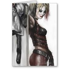 arkham asylum id badge harley quinn - Google Search: Batman Arkham City, Harleyquinn, Concept Art, Conceptart, Dc Comic, Comic Book, Comic Art, Batman Arkham Cities, Harley Quinn