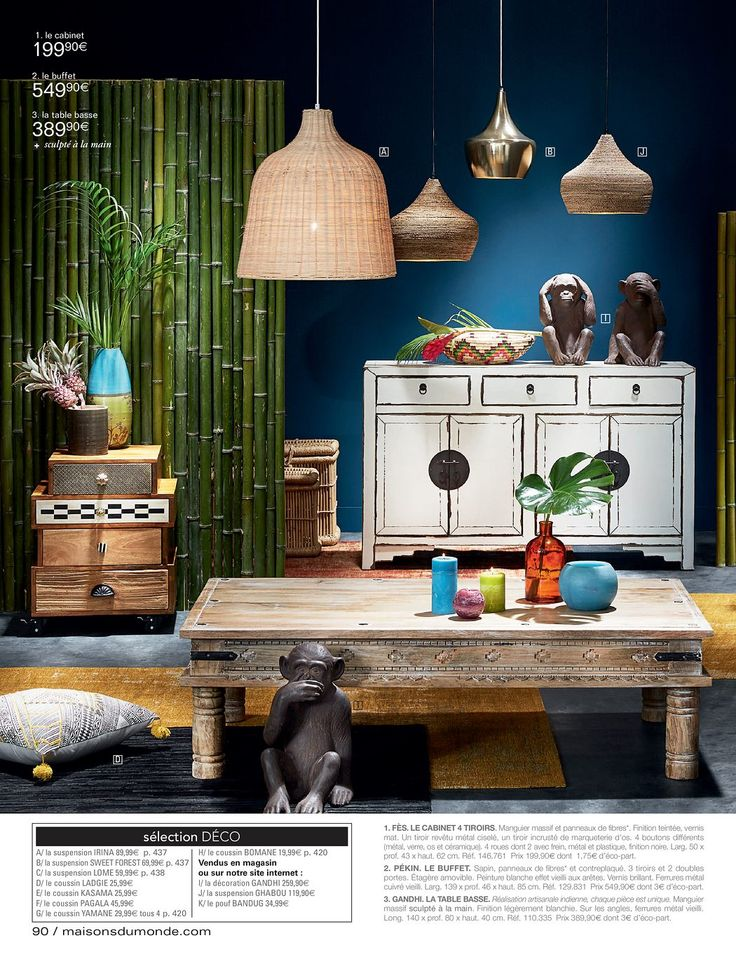13 best Inspiration | Maisons du Monde images on Pinterest ...