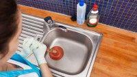 Tıkanan lavabolar için en etkili çözüm