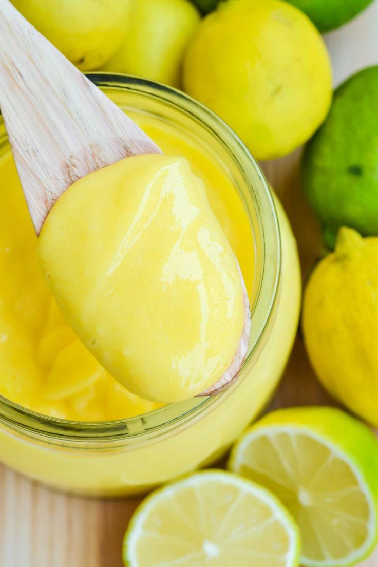 "supereinfaches ""Lemon Curd"""