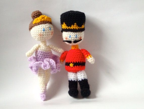 Crochet Doll Amigurumi Patterns - Nutcracker & Fairy ...