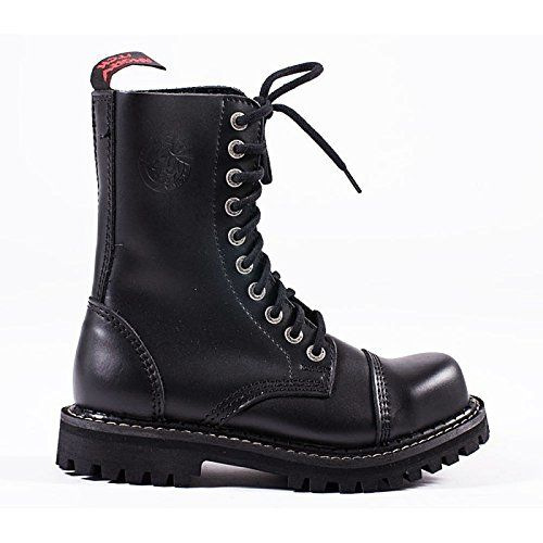 Angry Itch - 10-Loch Gothic Punk Army Ranger Armee Leder Stiefel mit Stahlkappe 36-48 - Made in EU!, EU-Größe:36 - http://on-line-kaufen.de/angry-itch/36-eu-angry-itch-10-loch-gothic-punk-army-ranger-mit