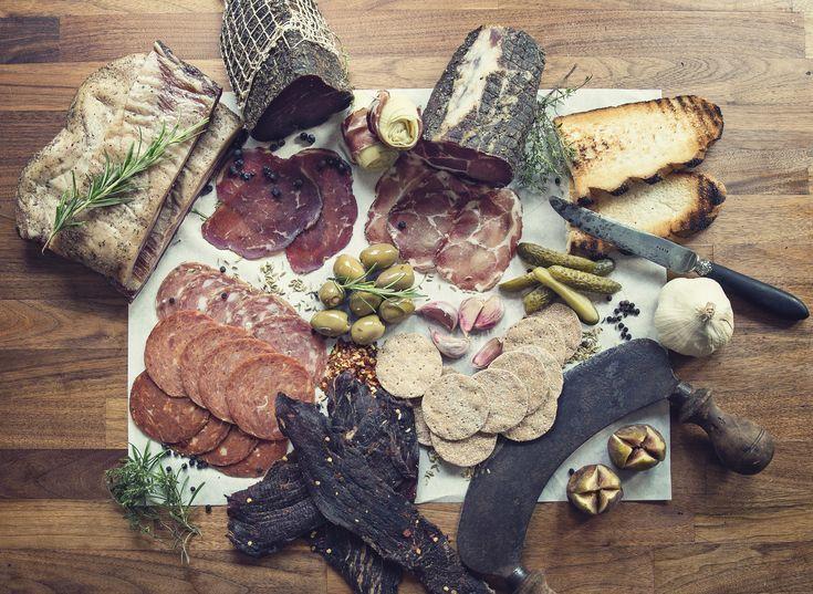 British Charcuterie | Salami | Chorizo | Lomo | Bresaola | Coppa | Jerky