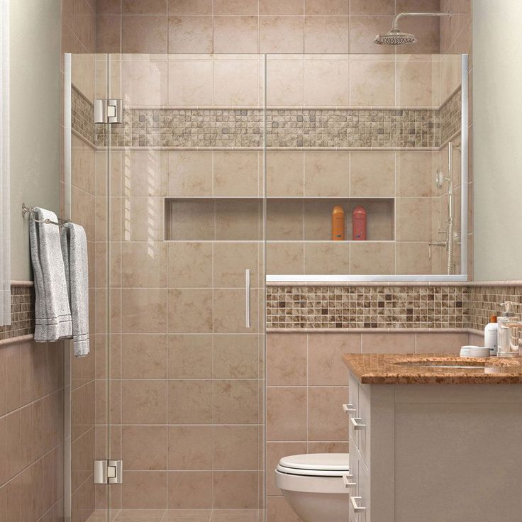 DreamLine Unidoor-X 71 - 71.5 in. W x 72 in. H Hinged Shower Door