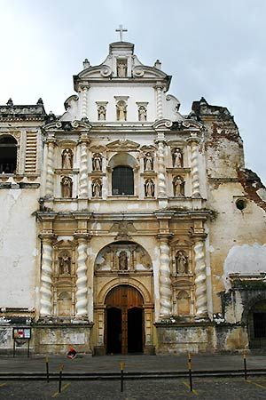 San Francisco el Grande is a church in Guatemala. The style which it was created in was  baroque, and it has sixteen vaulted niches.