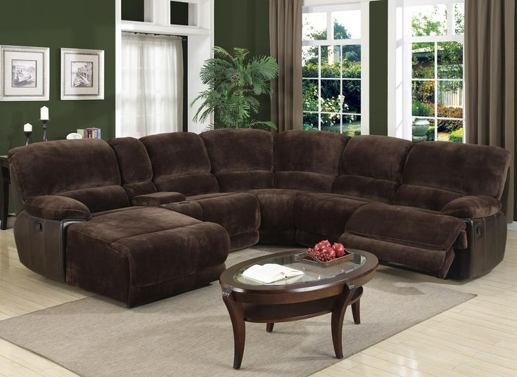 Motion Masters 3460 Casual Raf Chaise Reclining Sectional