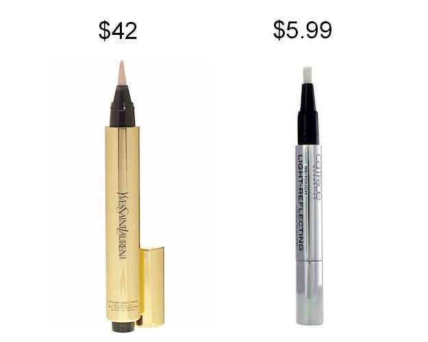 Try Catrice Re-Touch Light-Reflecting Concealer instead of YSL Touch Éclat to save about $36.