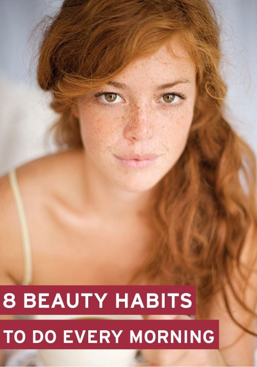 Rise and shine and start these new beauty routines every morning!
