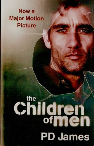 The Children of Men: The human race has become infertile, and the last generation to be born is now adult.  Oxford historian Theodore Faron, apathetic toward a future without a future, reminisces. Then he is approached by Julian, a bright, attractive woman who wants him to help get her an audience with his cousin, the powerful Warden of England. She and her band of unlikely revolutionaries may just awaken his desire to live . . . and they may also hold the key to survival.