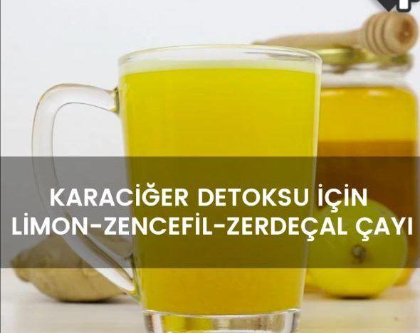 Karaciğer Detoksu İçin Limon-Zencefil-Zerdeçal Çayı tarifimizi mutlaka okumalısınız #sağlık #beslenme #yaşam #diyet #cumartesi #tatil çay #pratikbilgiler
