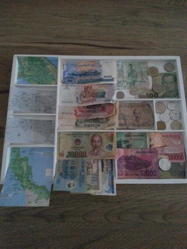 Collage van reizen van mijn vriend