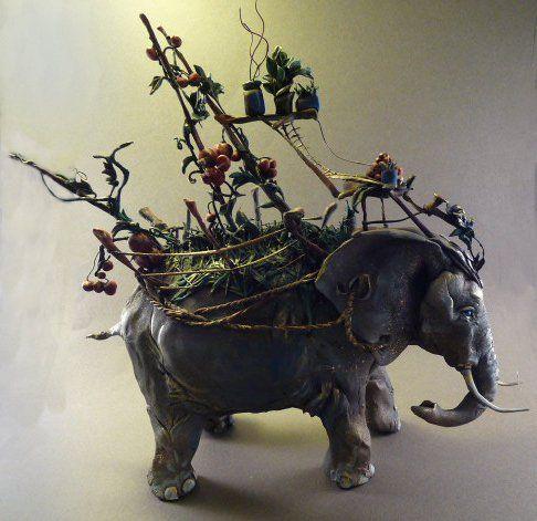 Best ARTIST Ellen Jewett Images On Pinterest Cold Porcelain - Surreal animal plant sculptures ellen jewett
