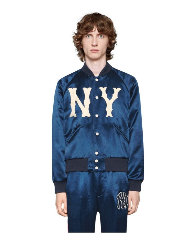 57924b909b5 Men s jacket with NY Yankees™ patch Detail 3