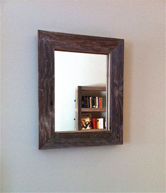 Barnwood Framed Bathroom Mirrors the 57 best images about mirror frames on pinterest | blue mirrors