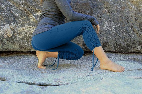 Adjustable leggings-womens clothing-yoga by aurorawear1 on Etsy