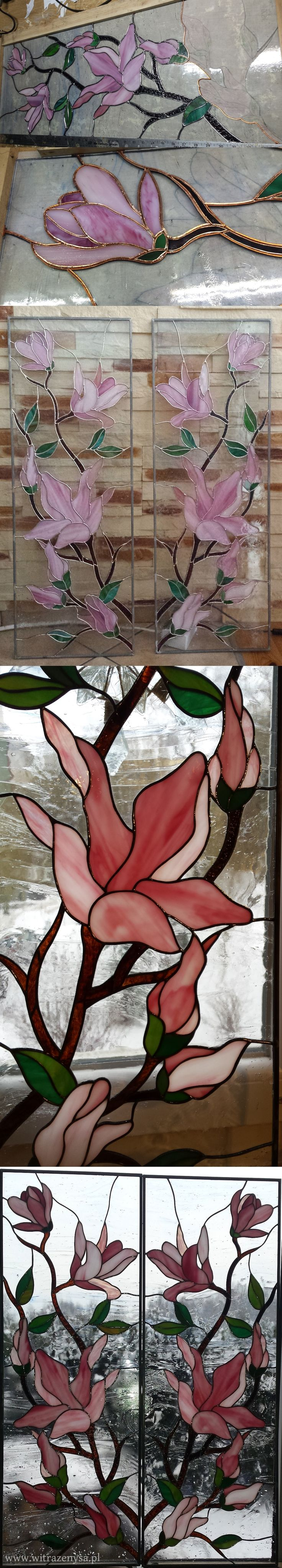 stained glass window, how is it made, witraż do okna wykonanie