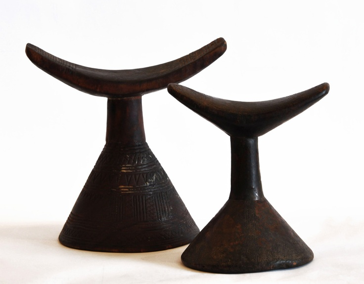 Michael Fullen Design Group - African Head Rests - Set of 2