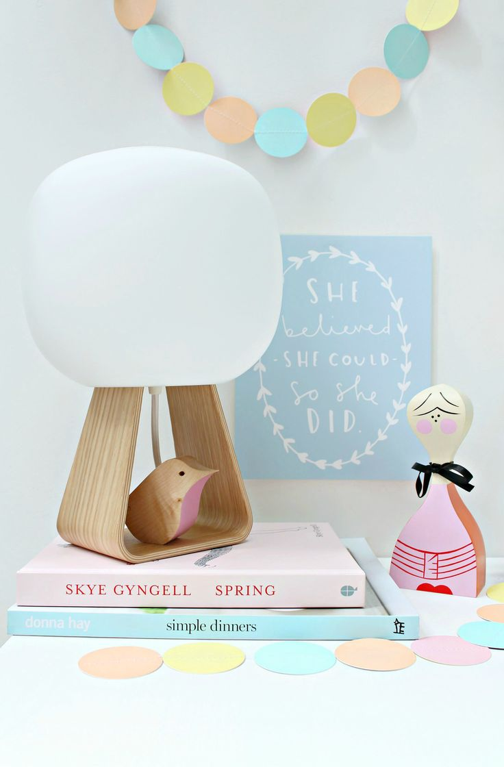 Toad lamp by Himmee. Styling Geraldine from Little Big Bell