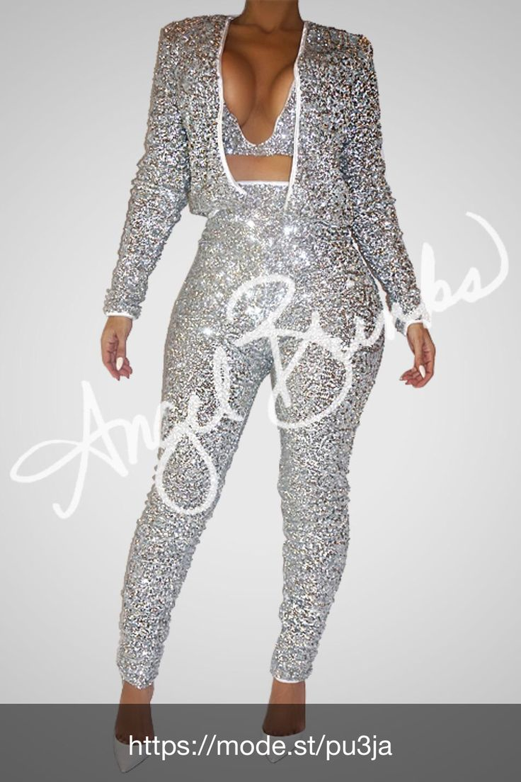 Check out Glisten Set (Silver) at Angel Brinks