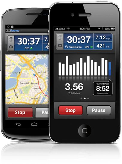 RunKeeper Pro-Running app that tracks pace, distance, calories, and more.